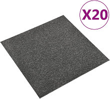 Baldosas de suelo de moqueta 20 uds 5m2 50x50cm
