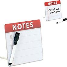 Balvi Pizarra Notes Color Blanco Bloc de Notas de
