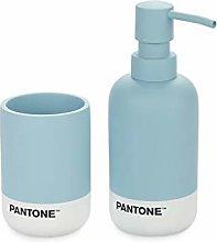 Balvi Set baño Pantone Color Azul Set de