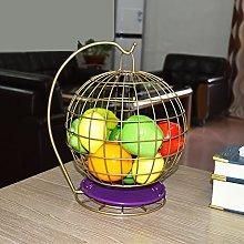 Bandeja de frutas de la sala de estar Canasta de
