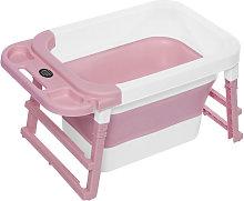 Bañera de bebé plegable Sensor de temperatura