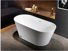 Bañera exenta de diseño TWIGGY - 150x70x58 cm -