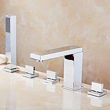 Baño de latón grifo de bañera ducha de