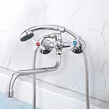 Baño grifo de la bañera grifo de la ducha fría