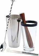 Bar Craft M130221 - Coctelera con accesorios 9007