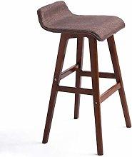 Bar Stools Taburete de madera maciza resistente