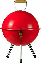 Barbacoa de Carbón Village Rojo Ø35,5x46cm 7house