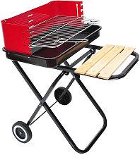 Barbacoa Grill Parrilla plegable 57x64x83 Outsunny