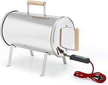 Barbecook 2239812000 AHUMADOR Otto, Gris, 64 x 26