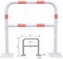 ?Barrera de seguridad 2000x1000mm Blanco/Rojo Ø