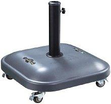 Base 37kg para sombrilla con asa y ruedas