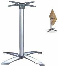 Base de mesa GATHER, aluminio, abatible, 4 brazos