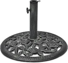 Base de sombrilla de hierro fundido 12 kg 48 cm -