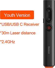 Baseus Wireless Presenter Puntero laser remoto con