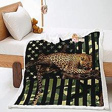 Batamanta Guepardo Animal Manta Reversible De