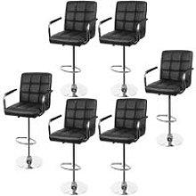 Bathrins - lote de 6 sillas de bar con