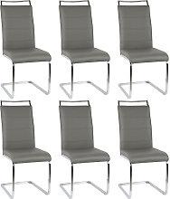 BATHRINS® Sillas de comedor 6 unidades - asientos