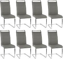 BATHRINS® Sillas de comedor 8 unidades - asientos