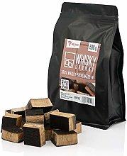 BBQ-TORO Trozos de Madera de Roble Whisky | 500 g