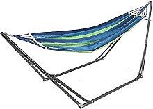 BBZZ Hamaca Camping espesar silla oscilante al