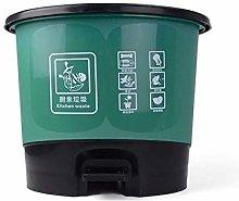 BDD Cubo de Basura Pedal Cocina Bote de Basura