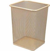 BDD Cubos de Basura Cubo de Basura de Metal Cubo