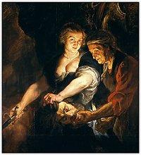 bdkym Lienzo Pintura Al Óleo Peter Paul Rubens