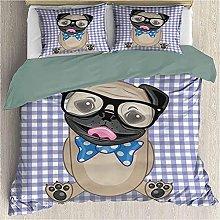 Bdppood Juego de ropa de cama para niños, diseño