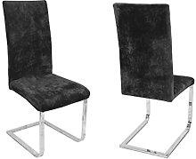 Beautex - Juego de 2 fundas para sillas,