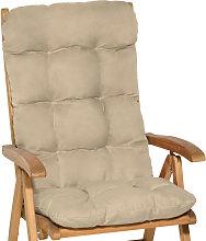 Beautissu Flair HL - Cojín para sillas de balcón