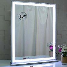 BEAUTME Espejo de tocador con luces LED