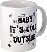 Bebé; Hace frío taza exterior - 11 onzas de
