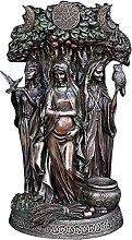 Bedspread La Triple Diosa Estatua-Escultura de