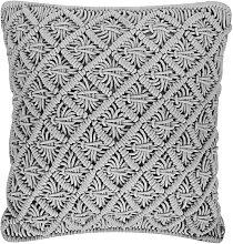 Beliani - Cojín decorativo 45x40 cm gris KIZKALESI
