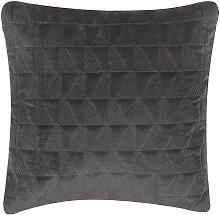 Beliani - Cojín decorativo 45x45 cm gris LALAM