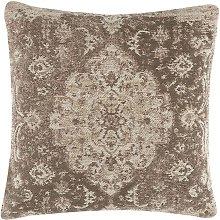 Beliani - Cojín decorativo 45x45 cm marrón