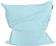 Beliani - Puf cojín 140x180 cm color azul claro