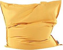 Beliani - Puf cojín 180x230 cm color amarillo