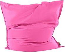 Beliani - Puf cojín 180x230 cm color rosa