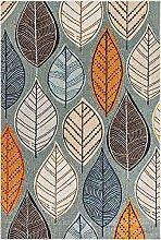 benuta PLUS Alfombra, Multicolor/Gris, 80 x 150 cm