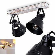 Berkeley - Lámpara de techo ajustable de metal y