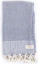 Bersuse Toalla turca Malibu 100% algodón, Color