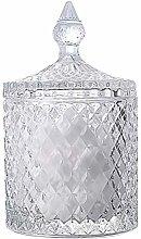 Besonzon - Bombonera de cristal con tapa para