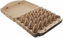 BESTonZON 5 Cajas de Cartón de Papel para Huevos