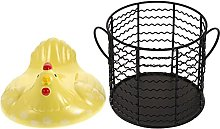 BESTonZON Cesta de Almacenamiento de Huevos de