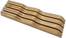 BESTONZON - Cortador de cuchillos de bambú con