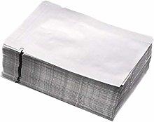 BESTONZON Mylar Bags, 100pcs Bolso de papel de