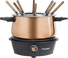 Bestron Set de fondue AFD850CO cobre 1500 W 1,5 L