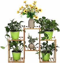 BESTSOON Estante de plantas multicapa para