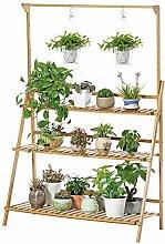 BESTSOON Soporte para plantas, estante de varias